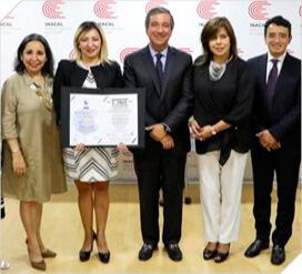 Instituto Nacional de calidad (Inacal) recibe Certificación  ISO: 27001.