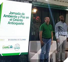 Familias del oriente de Antioquia conservarán la naturaleza