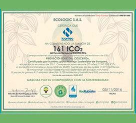 ¡ICONTEC Internacional siempre comprometido con la sostenibilidad!