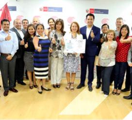 INACAL, recibe la certificación en ISO 9001:2015