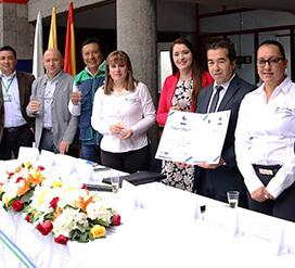 Corpanariño recibe la certificación ISO 9001:2015