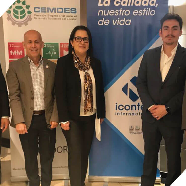 Charla SDG Compass de la ambición a la implementación. Icontec  International – CEMDES.