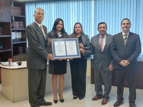 La Bolsa Centroamericana de Valores S.A, obtiene Certificado ISO/IEC 27001:2013 – Primera bolsa de valores en Centro América en obtener la Certificación en Seguridad de la Información