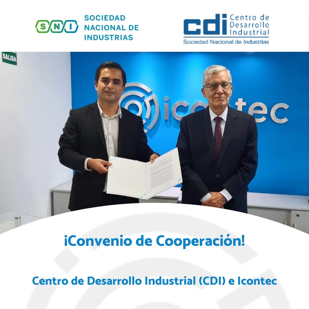 Sociedad Nacional de Industrias del Perú e ICONTEC