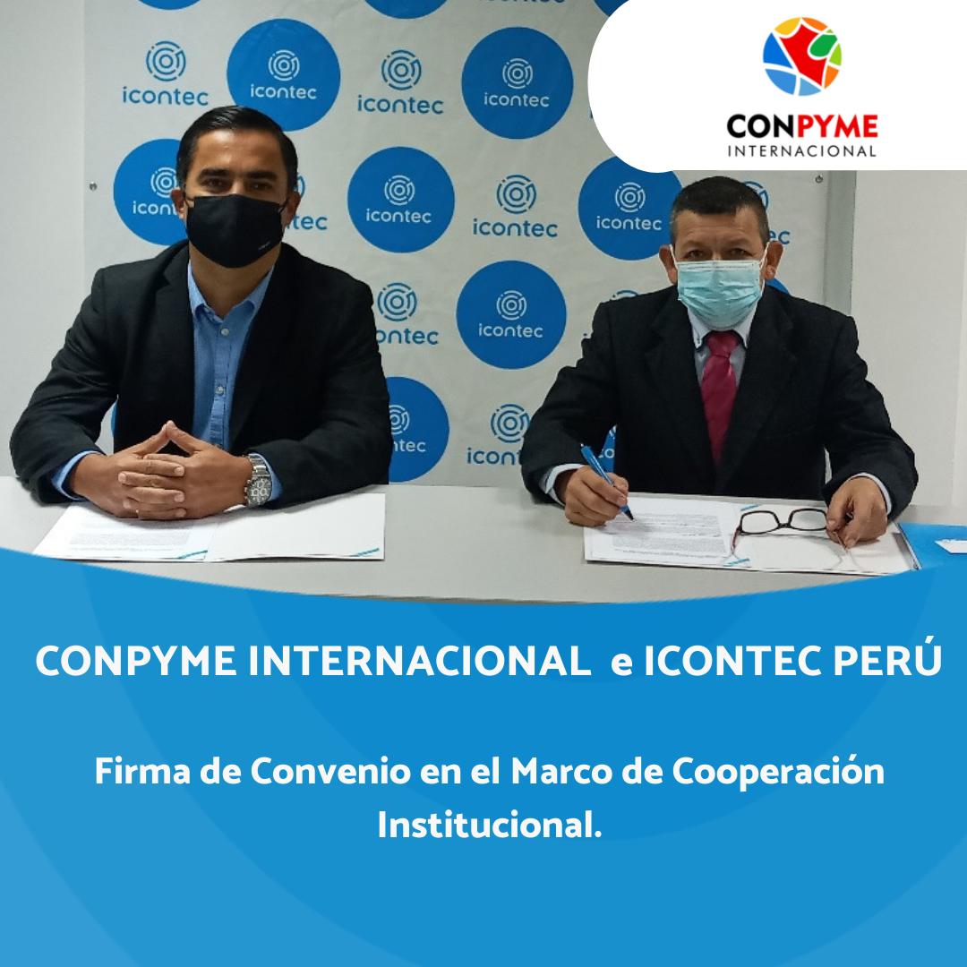 FIRMA DE CONVENIO COMPYME – INTERNACIONAL