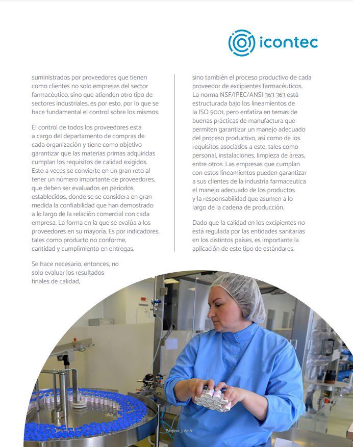 Asegurando la calidad de los excipientes farmacéuticos de la mano de las BPM